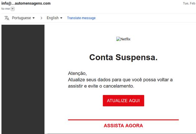 fraude e-mail
